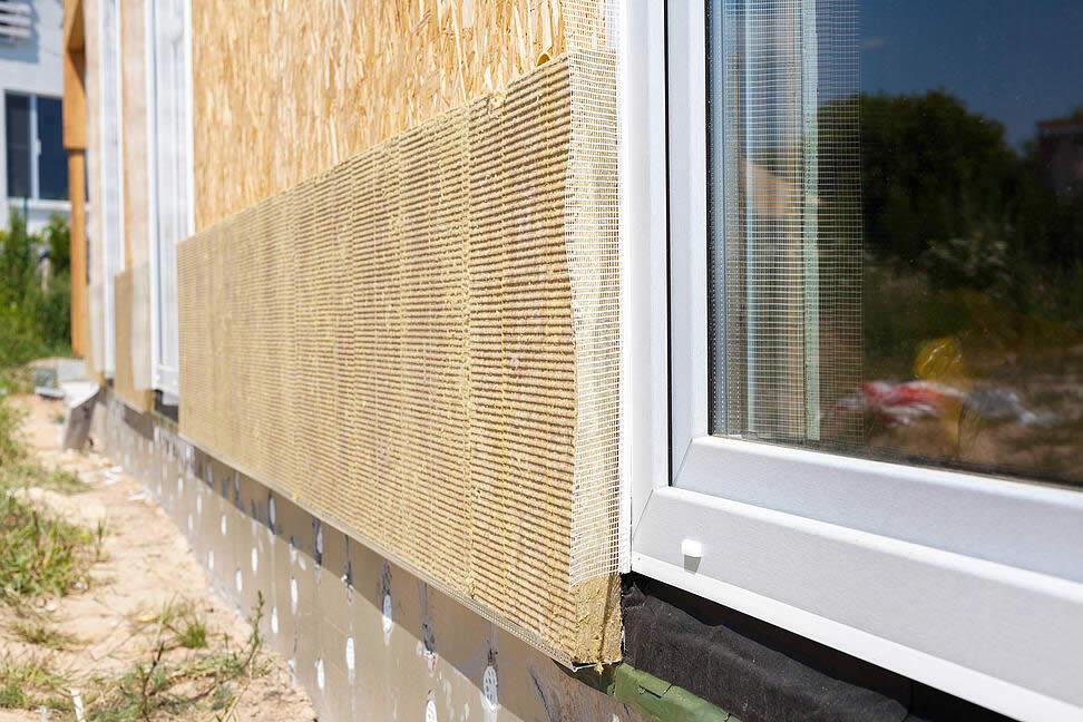 Wärmedämmung Fassade